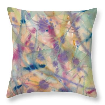 Botanical Dream Throw Pillow