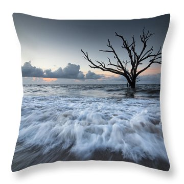 Botany Bay Power Throw Pillow by Serge Skiba