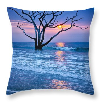 Botany Bay Sunrise 2 Throw Pillow