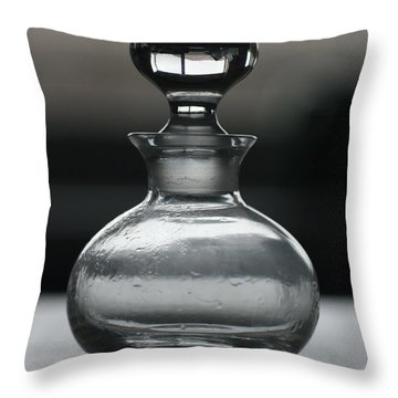 Bottle Throw Pillow