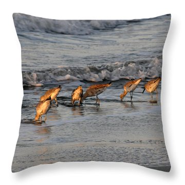 Bottoms Up Throw Pillow