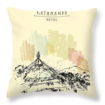 Tibetan Throw Pillows
