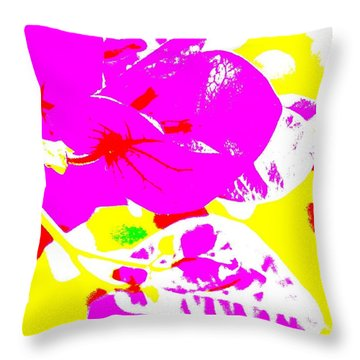 Bougie Throw Pillow