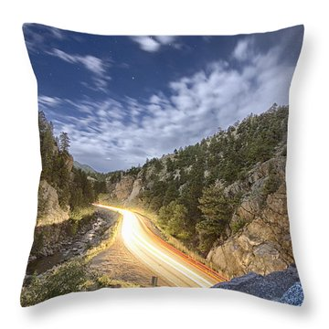 Boulder Canyon Dream Throw Pillow by James BO  Insogna