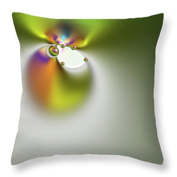 Bounded Elements Throw Pillow