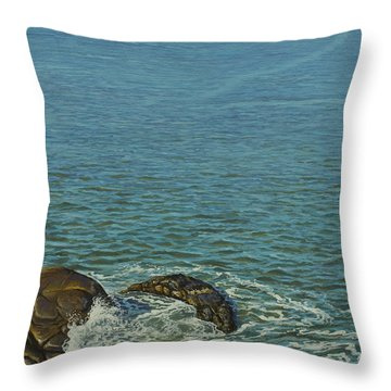 Boundless Ocean Throw Pillow