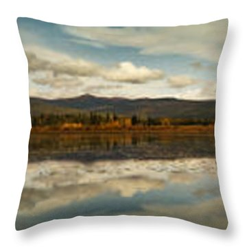 Boundless Throw Pillow by Priska Wettstein