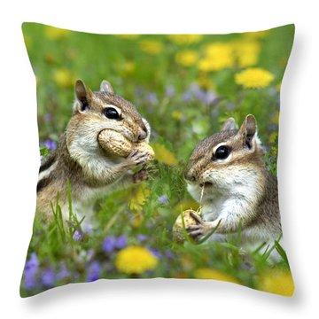 Bountiful Generosity Throw Pillow