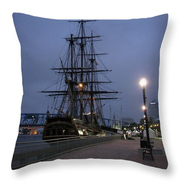 Bounty Throw Pillow by Greg Patzer