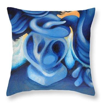Bouquet Of Tornadoes Throw Pillow