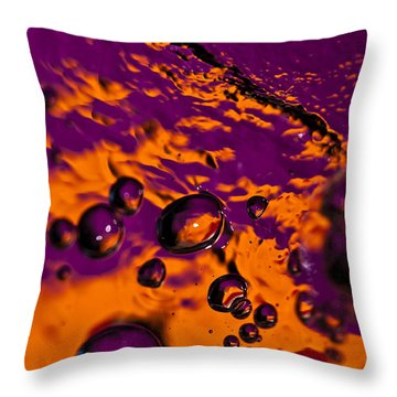 Bourbon Throw Pillow by Anthony Sacco