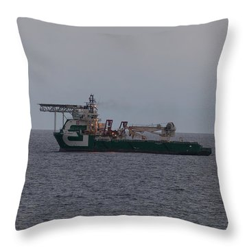 Bourbon Peridot Throw Pillow