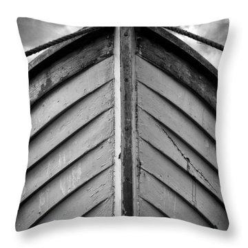 Bow  Throw Pillow by Stelios Kleanthous