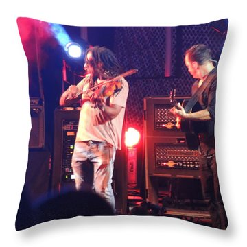 Boyd And Dave Throw Pillow by Aaron Martens