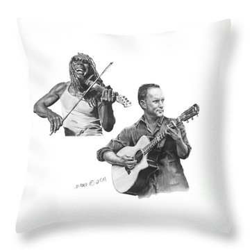 Boyd And Dave Throw Pillow