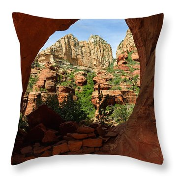 Boynton 04-641 Throw Pillow by Scott McAllister