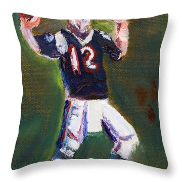 Superbowl Champ Throw Pillow