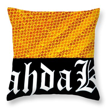 Brah Da Kine  Throw Pillow by Karon Melillo DeVega
