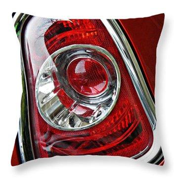 Brake Light 25 Throw Pillow by Sarah Loft