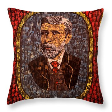 Bram Stoker Throw Pillow