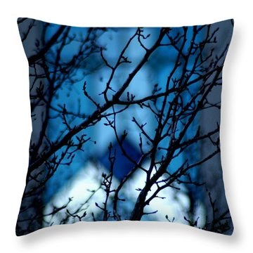 Branch Office Throw Pillow