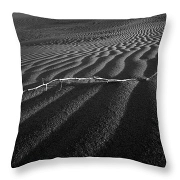 Branch Out In The Desert Throw Pillow