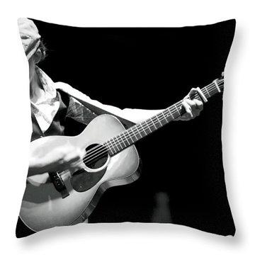 Brandi Carlile Count Basie Theatre Throw Pillow