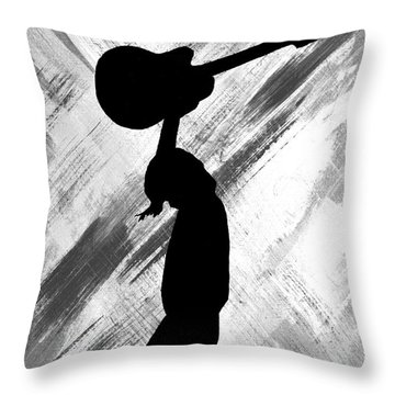 Brandi Carlile Living The Dream Throw Pillow