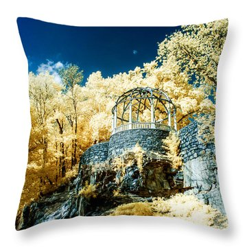Gazebo At The Zoo 2 Throw Pillow