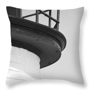Brant Point Lighthouse Throw Pillow
