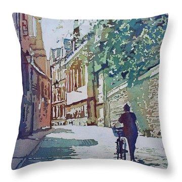 Brasenose Lane Throw Pillow