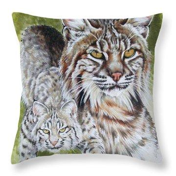 Brassy Throw Pillow