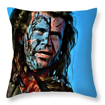 Braveheart Throw Pillow