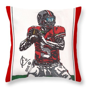 Braxton Miller 1 Throw Pillow