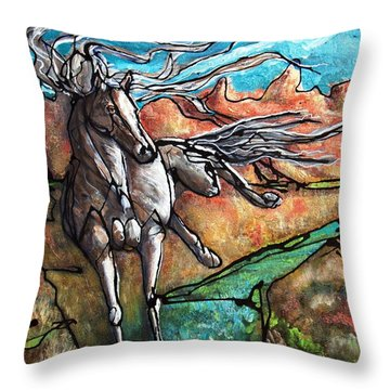 Break Free Throw Pillow
