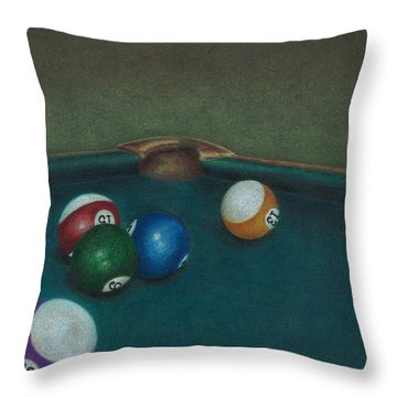 Break Throw Pillow
