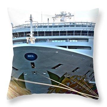 Breakaway Norwegian Throw Pillow