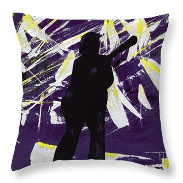 Breakdown Throw Pillow by Alys Caviness-Gober
