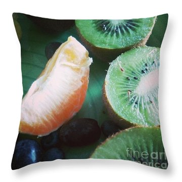 Breakfast #food #diet Throw Pillow by Isabella F Abbie Shores FRSA