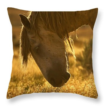 Breakfast - Signed Throw Pillow