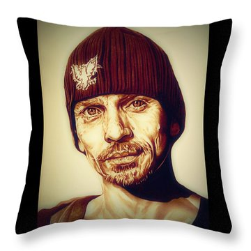 Breaking Bad Skinny Pete Throw Pillow