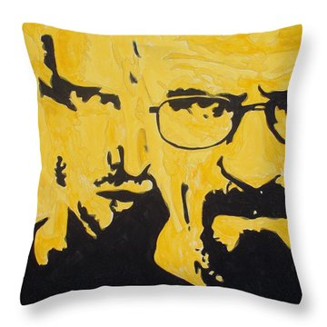 Breaking Bad Yellow Throw Pillow