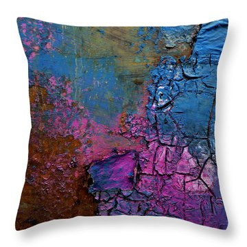Breaking Day Throw Pillow