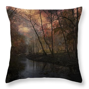 Throw Pillow featuring the photograph Breaking Of Dawns Early Light by John Rivera