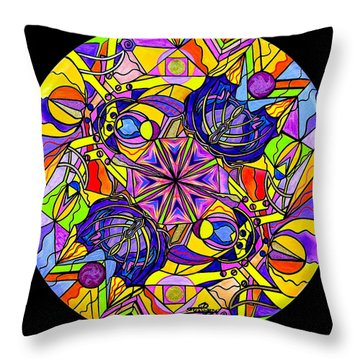 Breaking Through Barriers Throw Pillow