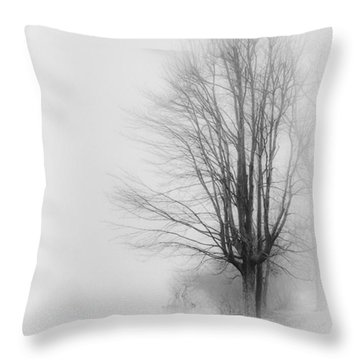 Breaking Through Throw Pillow by Greg Jackson