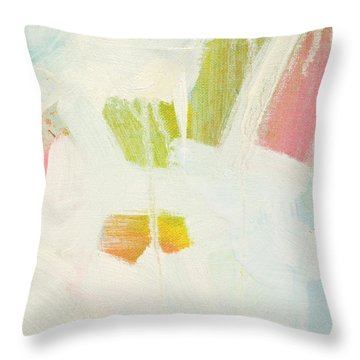 Throw Pillow featuring the painting Breakwater  C2013 by Paul Ashby