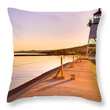 Breakwater Lights Redux Throw Pillow