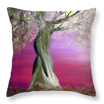 Breath Of Winter 1 Throw Pillow by Alys Caviness-Gober