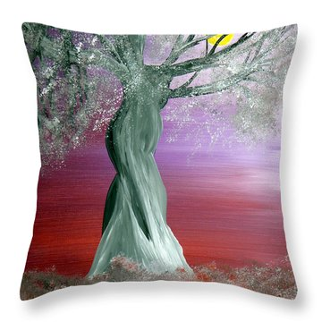 Breath Of Winter 2 Throw Pillow by Alys Caviness-Gober